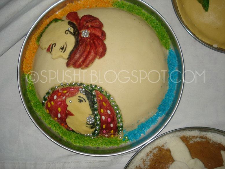 Spusht Rajasthani Teej Sattu Decoration Ideas