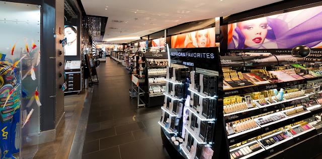 Como são as lojas Sephora em Miami e Orlando