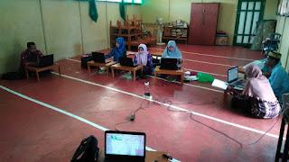 Proses Pengisian Raport PAT Kurikulum 2013 MI Al Raudlah