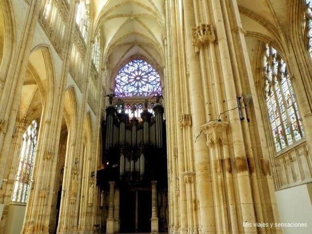 iglesia abacial de Saint-Ouen, Alta normandia, Francia