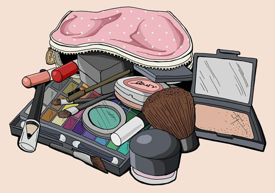 My beauty makeup bag