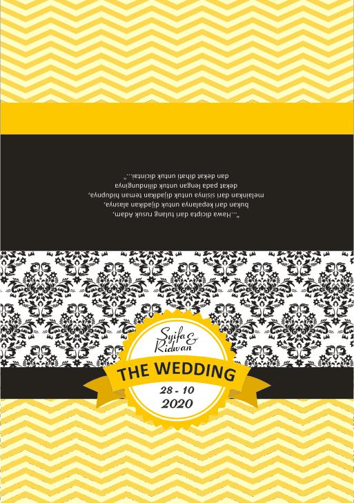 download template desain undangan pernikahan simple dan elegan perpuskampus com download template desain undangan