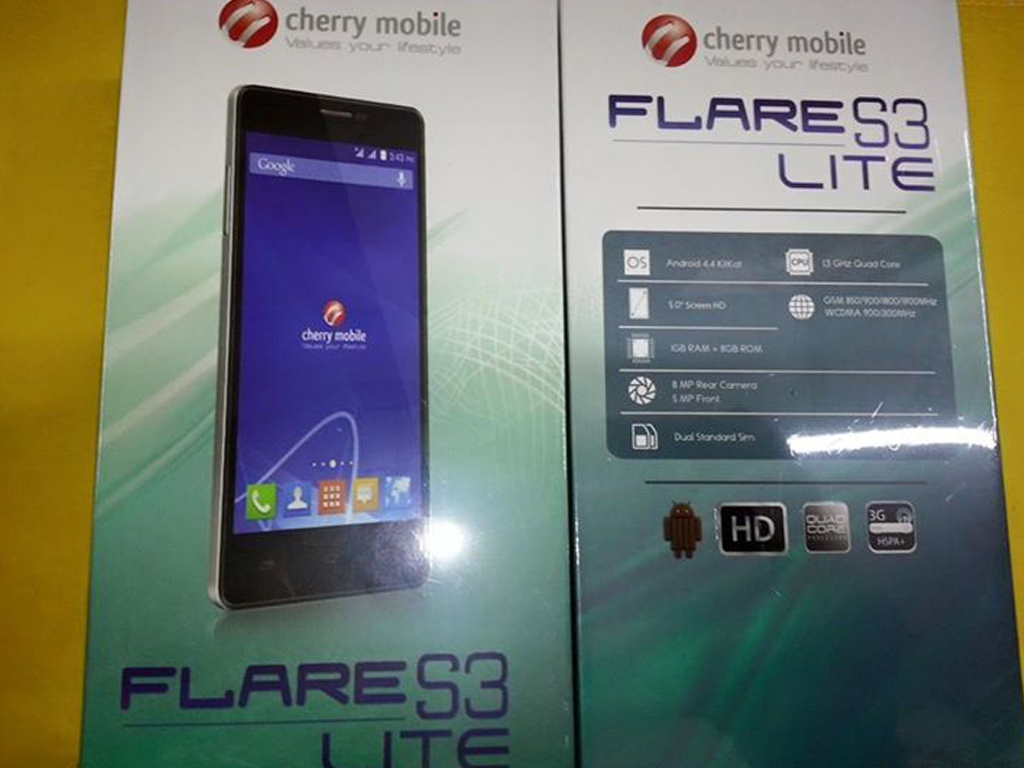 Cherry Mobile Flare S3 Lite Now Available, Priced At 2999