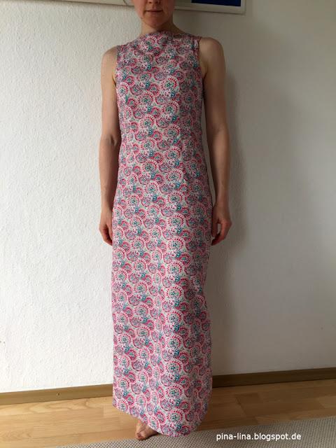 Ein Kleid wie eine Kittelschürze, aber trotzdem schön