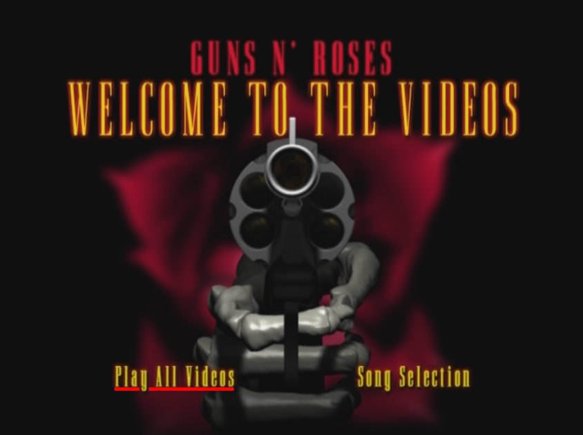 CLICK AQUI  Guns N Roses Welcome To The Videos DVD-R 1