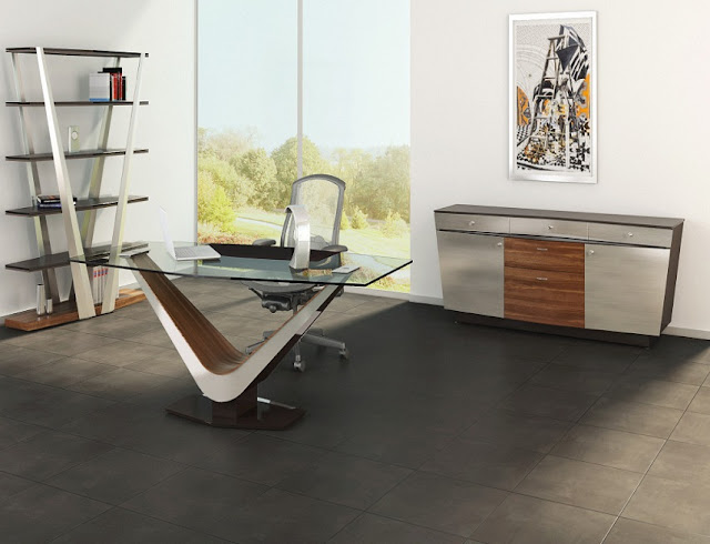 best buy glass modern office furniture Los Angeles CA for sale