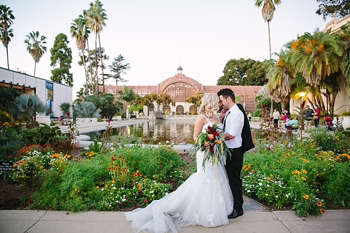 Wedding Vendors Photography Ashley Paige Venue Balboa Park In San Go Fl Designer Sweet Petals Florist Gown