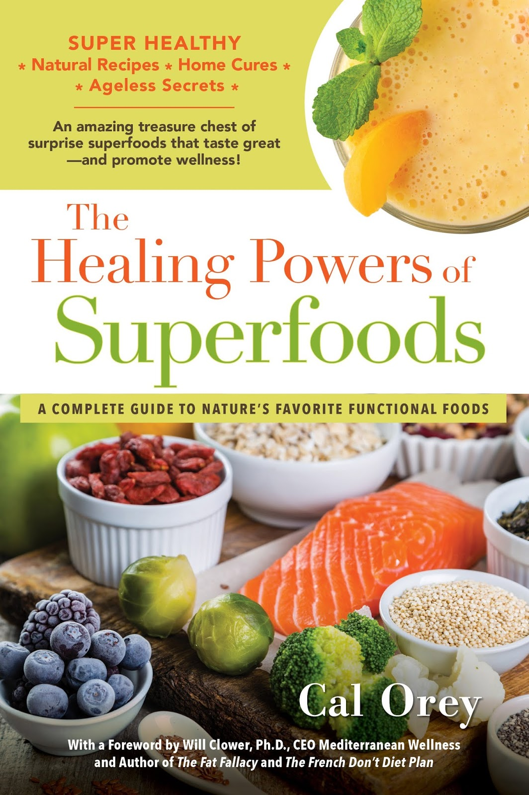 The Writing Gourmet: NEW Superfoods Book Touts Heart-Healthy
