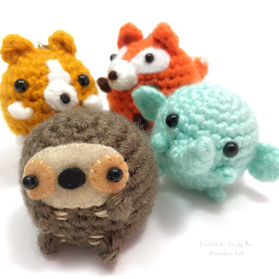 Alexandria Gold Illustration Alexandria Gold Children's Books Illustrations Ria Art World Crochet Critters Amigurumi Handmade Kawaii Procreate
