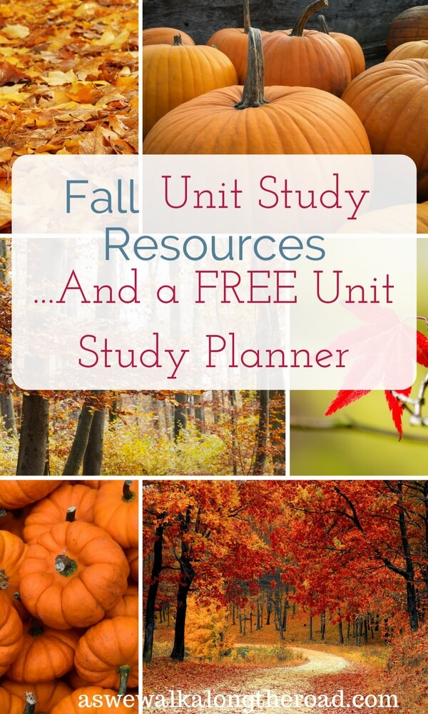 Fall unit study resources
