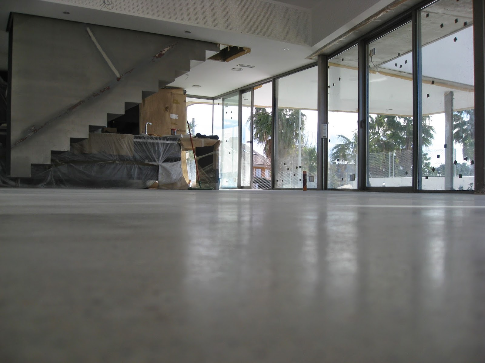 Hormig n pulido litio m laga hormisystem for Hormigon pulido para interiores