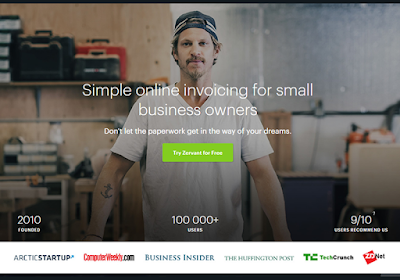 Zervant helps make running a small business as simple as possible