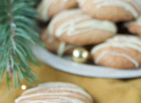 Miękkie ciastka imbirowe