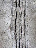 Слід від колеса след на соли