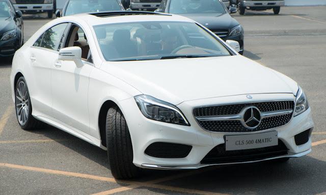 Ngoại thất Mercedes CLS 500 4MATIC thiết kế hiện đại, đẳng cấp vượt trội