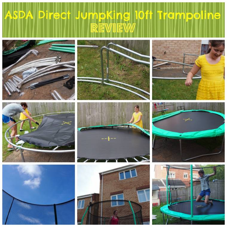 10ft Trampoline From Asda Direct : Reviewed..