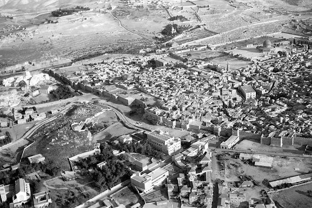 20 Foto Menakjubkan Yerusalem di tahun 1930an