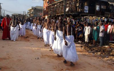 Funeral Rite of Oba of Benin Omo N'oba N'Edo Uku Akpolokpolo Oba Erediawa 3333