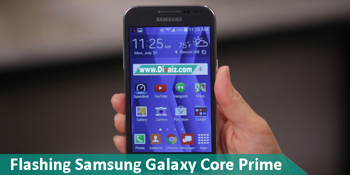 Cara Flashing Samsung Galaxy Core Prime (SM-G361H) Work 100%