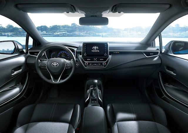 Novo Toyota Corolla 2019 - interior