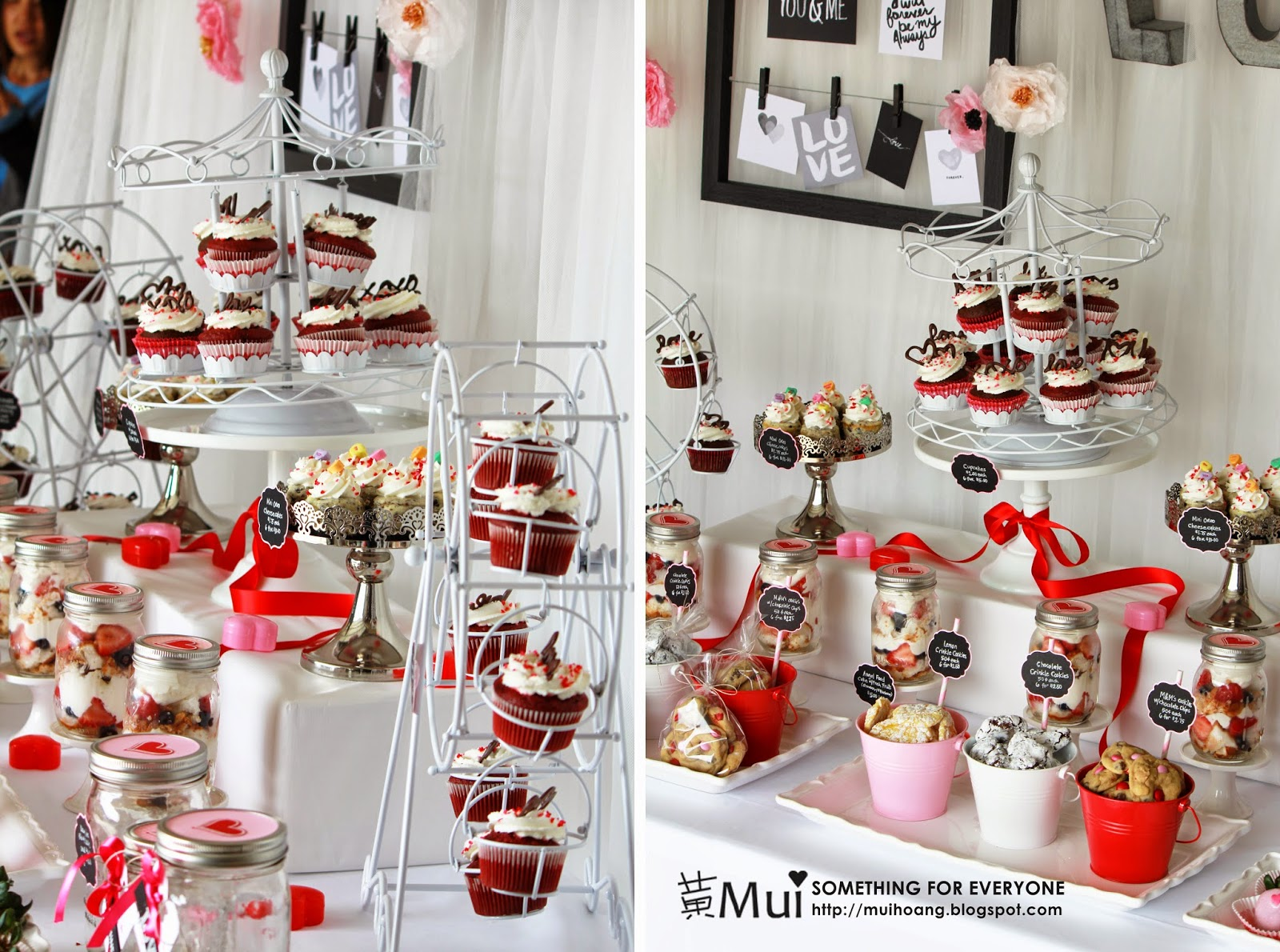 Something For Everyone Valentine Dessert Table For Bake Sale