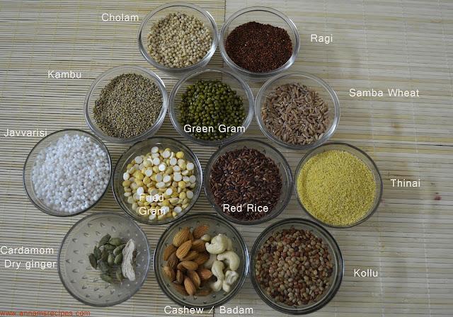 Sathu Mavu Recipe / Sprouted Sathu Mavu