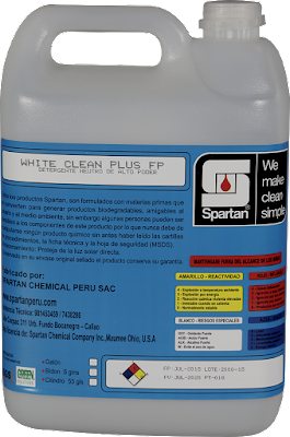 WHITE CLEAN PLUS FP - Detergente Neutro