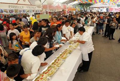 festival de la enchilada iztapalapa 2016