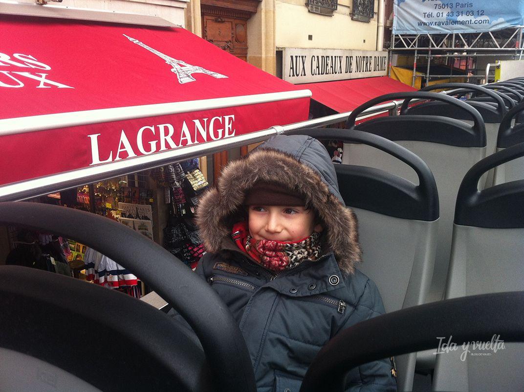 Viajar con niños París