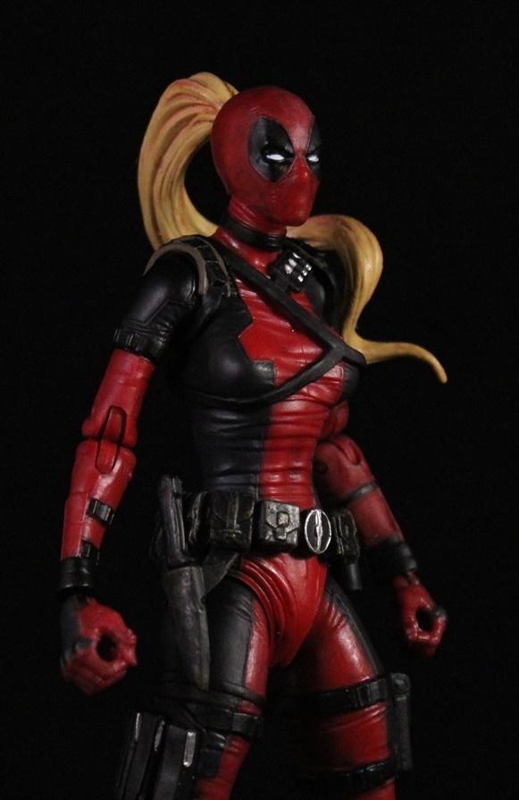 She 39 s fantastic marvel select lady deadpool for Headpool
