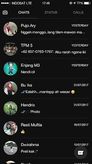 Download Update WhatsApp BLACK v2.17.254 Apk