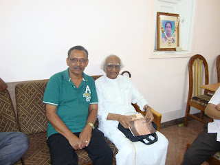 Mu Sivalingam with Writer Raja Narayanan India