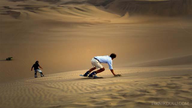 Wisata Sandboarding Jogja
