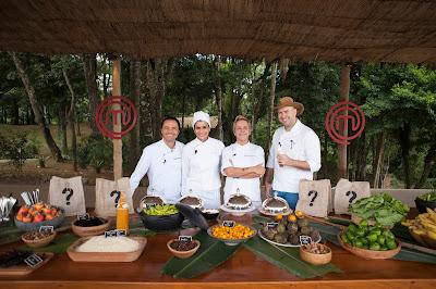 Os chefs convidados Humberto Marra, Ariani Malouf, Mara Alcamin e Paulo Machado - Divulgação/Band