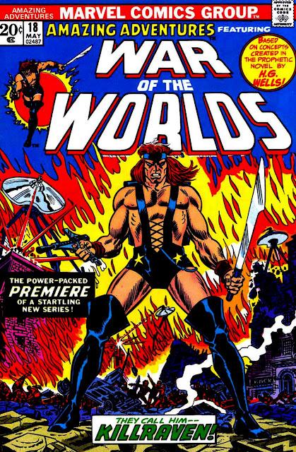 Amazing Adventures v3 #18, 1973 marvel bronze age comic book cover - 1st Killraven