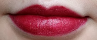 Avon Perfectly Matte Lipstick in Wild Cherry