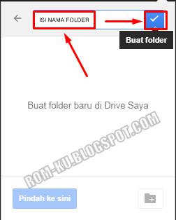 isi nama folder google drive