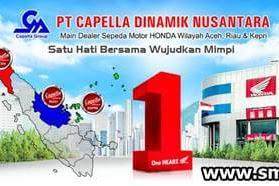 Lowongan Kerja Pekanbaru : PT. Capella Dinamik Nusantara Januari 2018