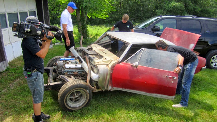 Holy Grail Of Muscle Cars Found In Old Barn