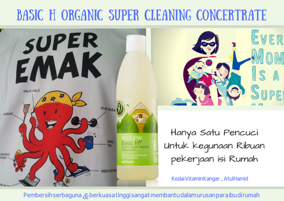 Basic H² Organic Super Cleaning Concentrate