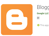 Aplikasi Blogger Android 2019 Asli untuk Menulis Artikel Blog