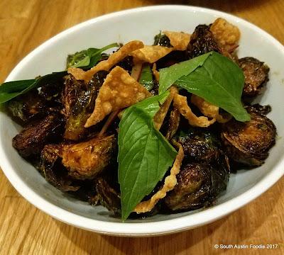 Krua Urban Thai brussels sprouts