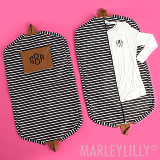 luggage, bag, travel, suitcase, wedding gift, marleylilly, monogram, black and white