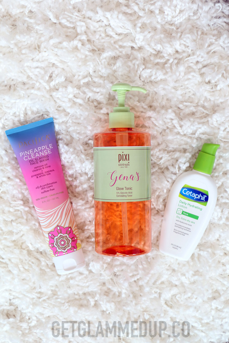 Drugstore Morning Skincare Products