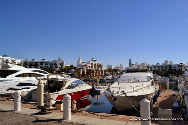 Dubai Yacht Club and Park Hyatt