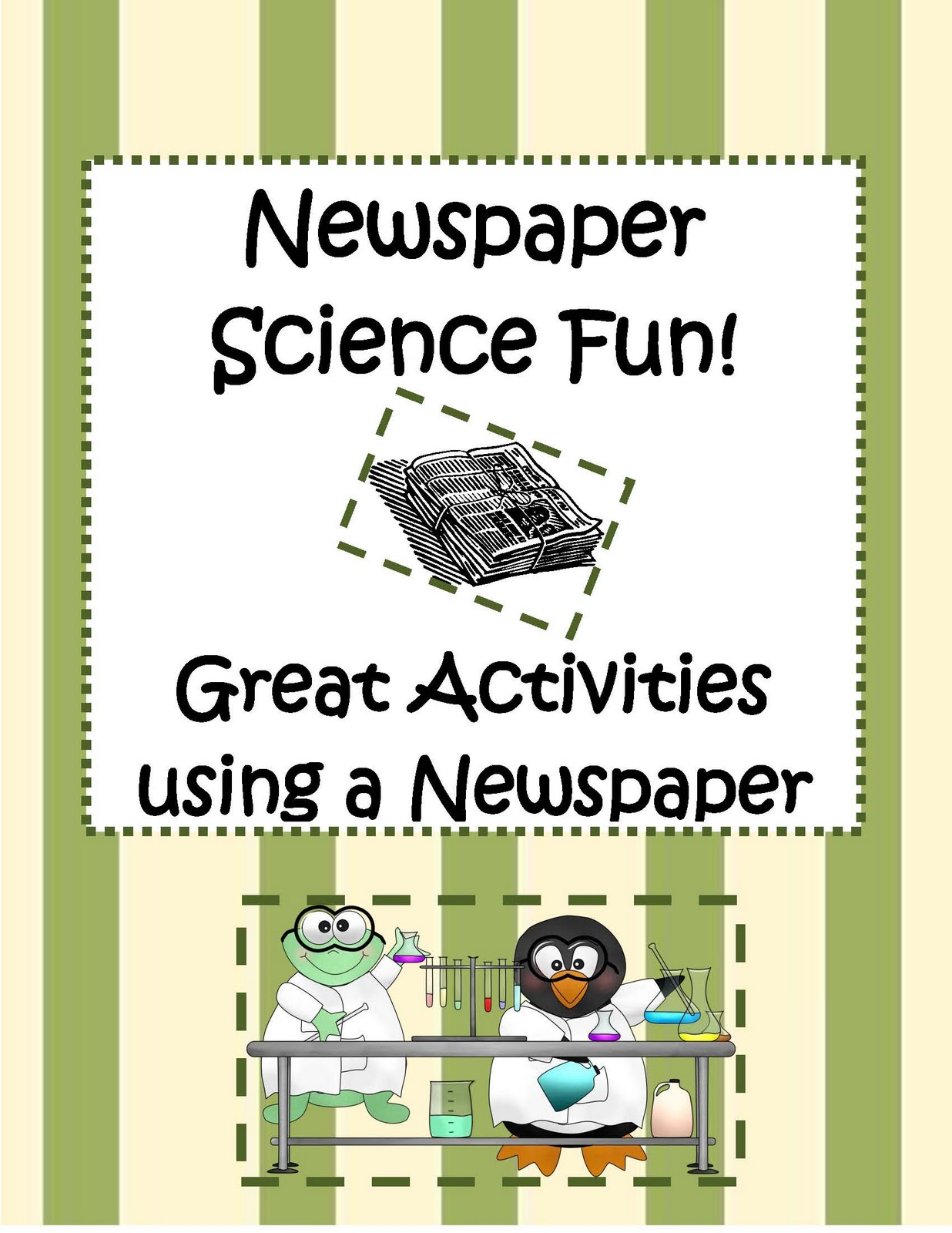 Engaging Lessons And Activities Science Newspaper Activities