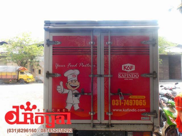 branding truck box