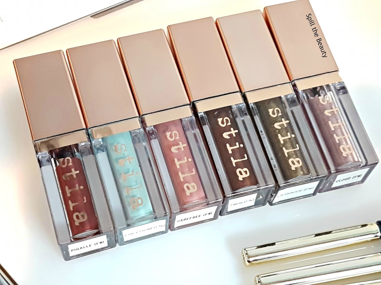 stila spring preview swatches pigalle freedom carefree twig la douce cloud