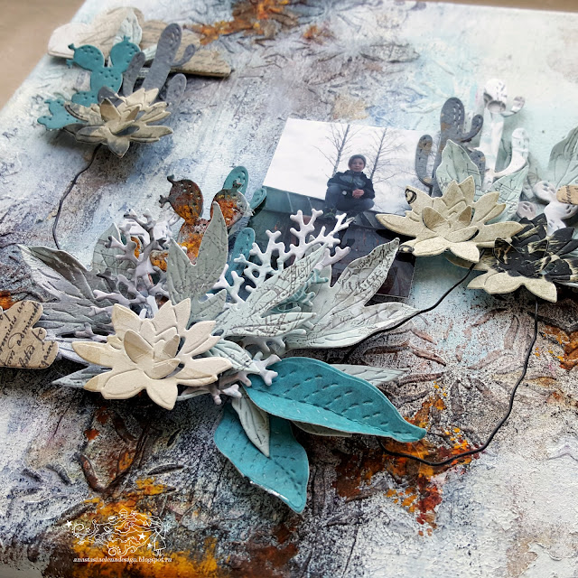@nastyalena #холст #mixedmedia #canvas #scrapbooking