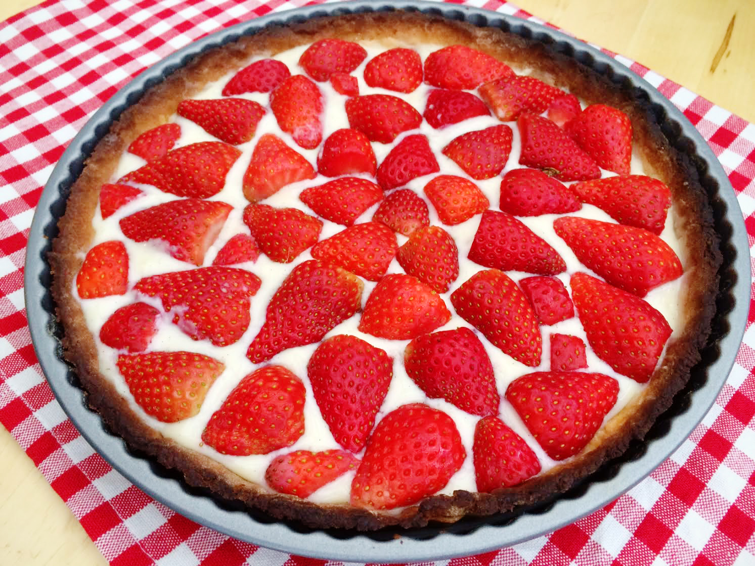 Classic French Tarte aux Fraises Recipe, Step-by-Step